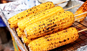 Corn off the grill