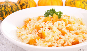 Bowl of Pumpkin Risotto