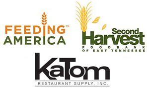 Feeding America, KaTom and Second Harvest Logos