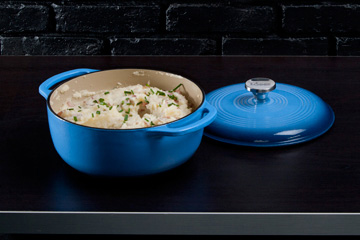 Blue Enamel Cast Iron by Lodge