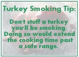 Food Safety Turkey Smoking Tip