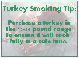 Tips for smoking a turkey