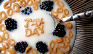 Tax Day Freebies from Breakfast to Fourth Meal