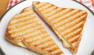 Black Forest Ham and Gruyere Panini - Recipe