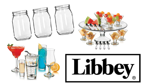 Group of Libbey Glassware