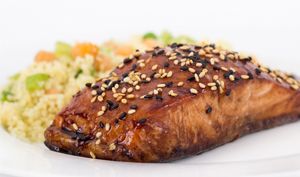 Sesame Crusted Salmon - Recipe