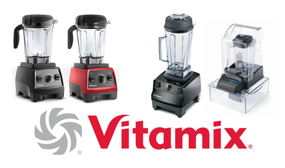 Group of Vitamix Blenders