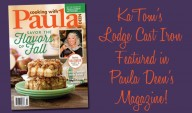 Paula Deen Features Lodge's Small Cast-Iron Kettle for Fall