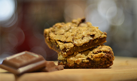 Cookie Bars and Chocolate - KaTom Blog