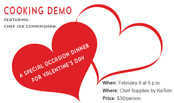 Cooking Demo - Feb 9, 2016