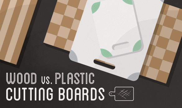 Battle of Wood and Plastic Cutting Boards