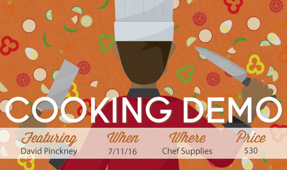 Cooking Demo on July 11