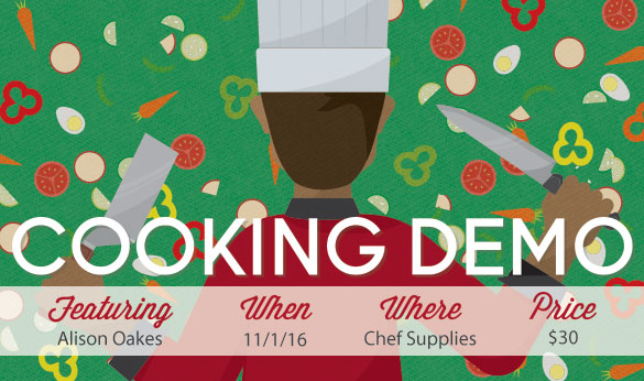 Cooking Demo Nov 1