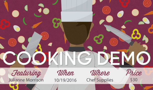 Cooking Demo Oct 19