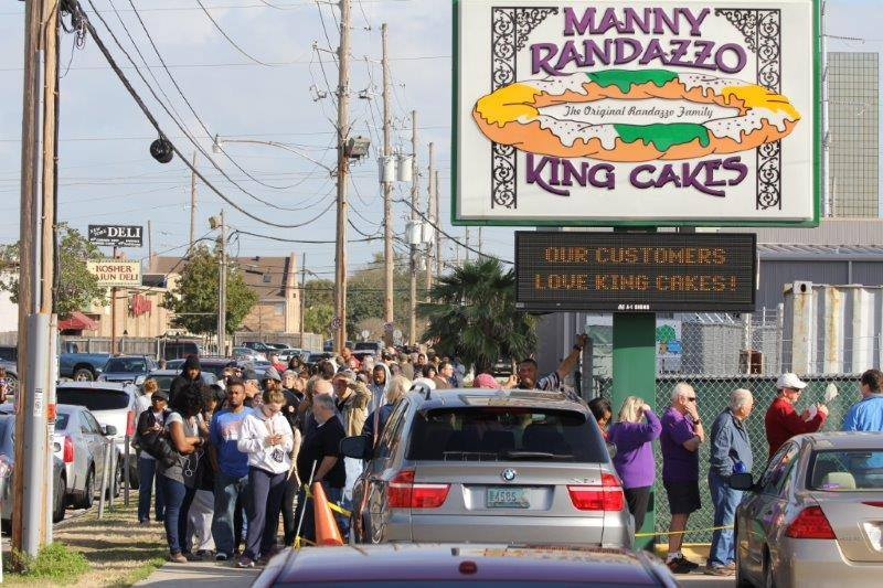 Lines form down the block for Manny Randazzo king cakes