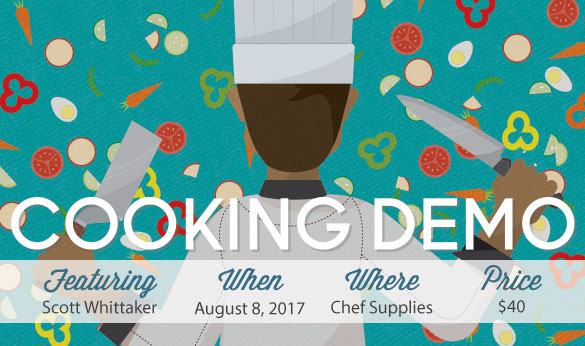 Cooking Demo - Aug 8, 2017