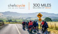 Chefs Cycle for No Kid Hungry