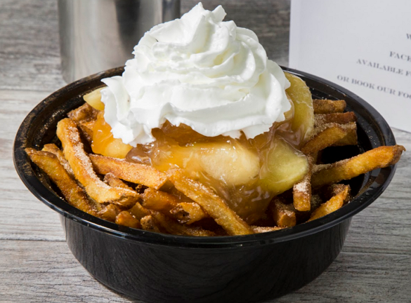 American Poutine Apple Pie Fries
