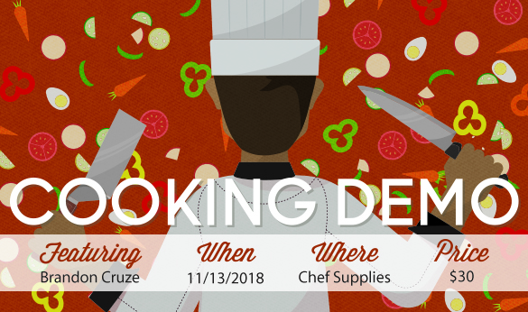 cooking demo 11/13