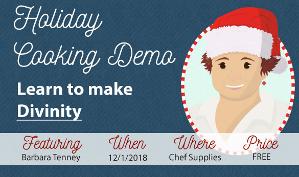 Cooking Demo 12/1