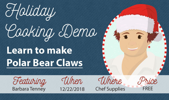 Cooking Demo 12/22