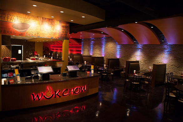Wok Chow Interior - Restaurant Delivery System